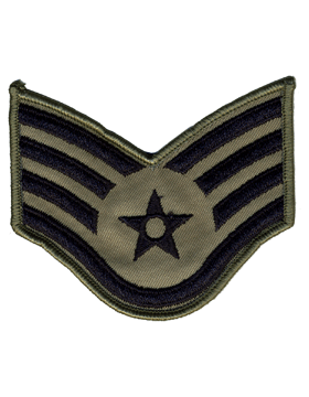 USAF Chevron Staff Sergeant (Pair)