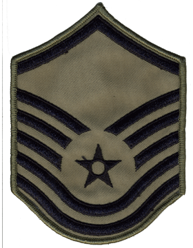 Air Force Chevron ABU (Pair) Master Sergeant