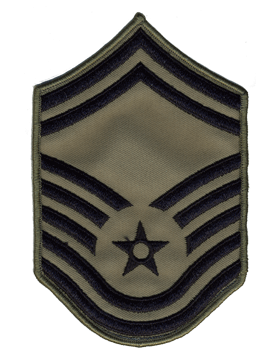 Air Force Chevron ABU (Pair) Senior Master Sergeant