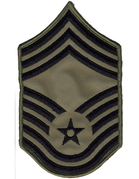 USAF Chevron (AF-C710/L) Chief Master Sergeant ABU Large (Pair)