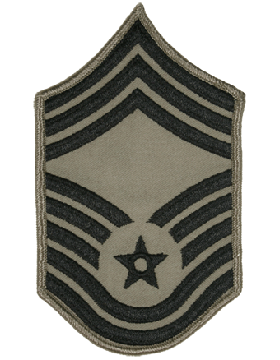 USAF Chevron (AF-C810/S) Chief Master Sergeant ABU Small (Pair)