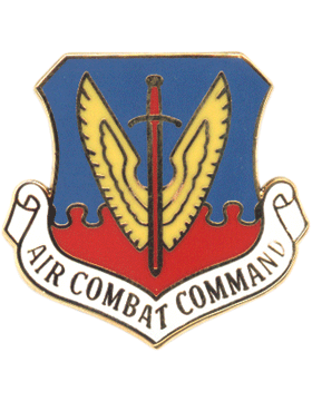 Air Force Small Crest Air Combat Command