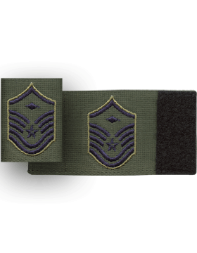 USAF Gortex Rank Master Sergeant with Diamond