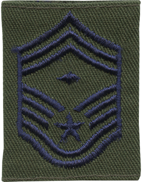 Gortex Loop Chief Master Sergeant with Diamond