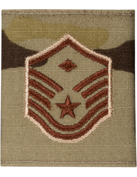 Gortex Loop AF Scorpion, Master Sergeant with Diamond