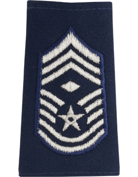 USAF Shoulder Marks, Chief Master Sergeant with Diamond