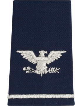 USAF Shoulder Marks, Colonel Large
