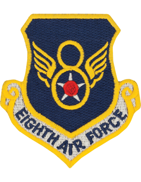 8th Air Force Full Color Patch (Barksdale AFB)