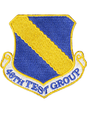 46 Test Group Full Color Patch with Fastener (Holloman AFB)