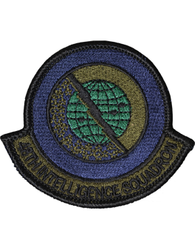 48th Intelligence Squadron Full Color Patch