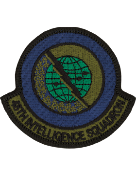 48th Intelligence Squadron Full Color Patch 3 1/8