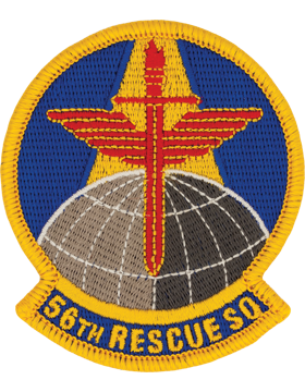 56th Rescue Squadron Full Color Patch