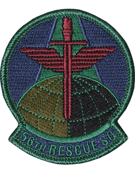 56th Rescue Squadron Subdued Patch