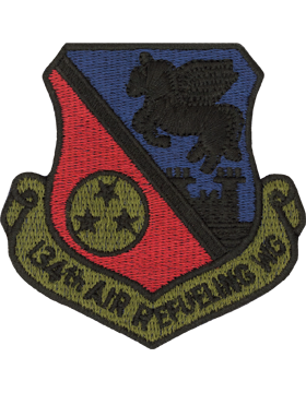 134th Air Refueling Wing Subdued Patch (TN ANG)