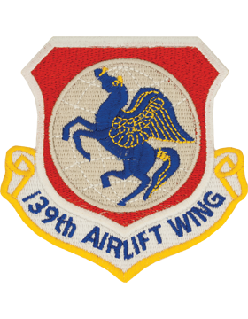 139th Airlift Wing Full Color Patch