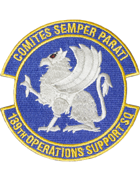 139th Operations Support Squadron Full Color Patch