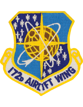 172nd Airlift Wing Full Color Patch