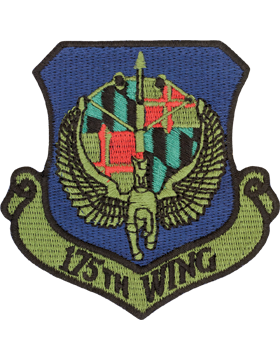 175th Wing Subdued Patch (MD ANG)