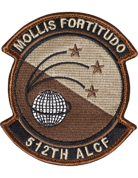 512th ALCF Desert Patch with Fastener (Dover AFB)