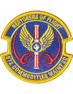 572nd Commodities Maintenance Sq Full Color Patch