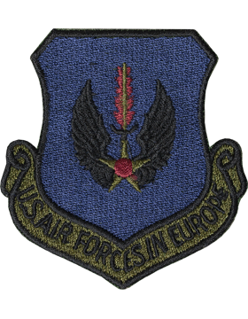 US Air Forces In Europe Subdued Patch (New)