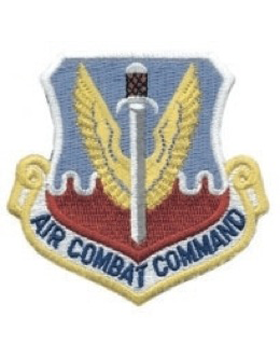 Air Combat Command Full Color sew on