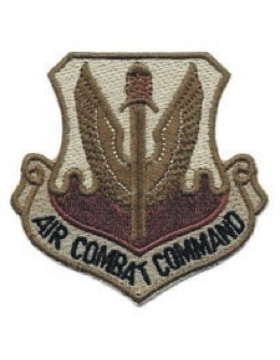 USAF Patch (AF-P01E) Air Combat Command Desert Sew On