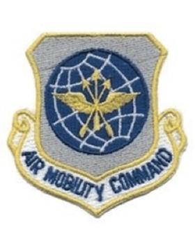 Air Mobility Command Full Color Sew on