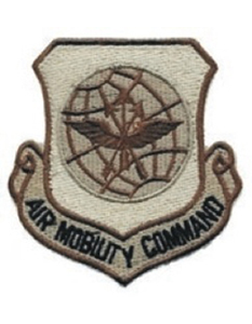 USAF Patch Air Mobility Command Desert