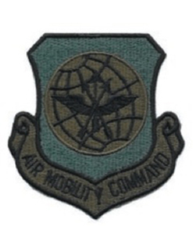 USAF Patch (AF-P02C) Air Mobility Command Desert without Fastener