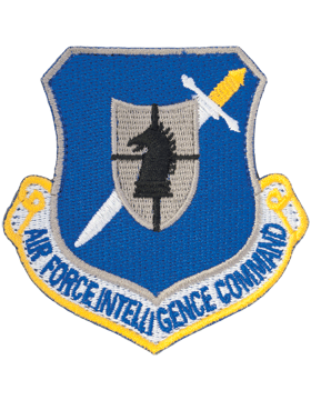 USAF Air Intelligence Command Full Color Patch No Fastener