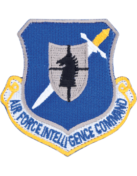USAF Air Intelligence Command Full Color Patch with Fastener