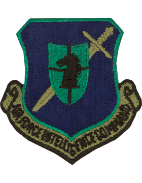 USAF Air Intelligence Command Subdued Patch Without Fastener