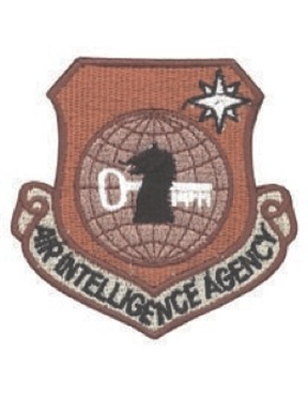 USAF Patch (AF-P03E) Air Intelligence Agency Desert without Fastener