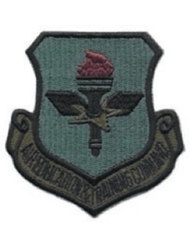 USAF Patch (AF-P04C) Air Education and Training Command Desert with Fastener