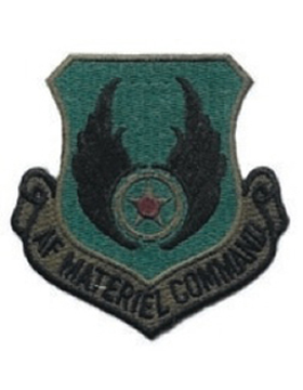 USAF Patch (AF-P05C) Material Command Subdued without Fastener