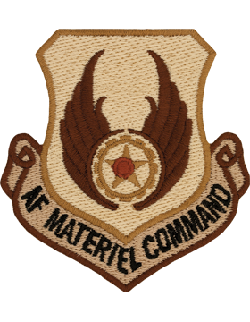USAF Material Command Desert Patch No Fastener