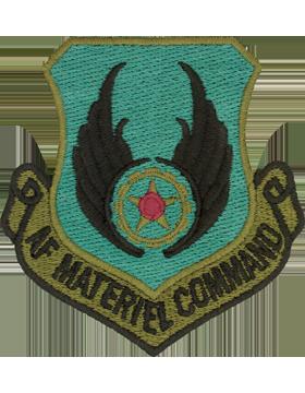 USAF Materiel Command Subdued Patch (Black Border)