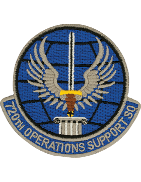 720th Operations Support Squadron 3in Full Color Patch