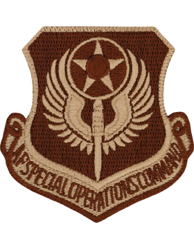 USAF Patch (AF-P09B) Special Operations Command Desert (New)