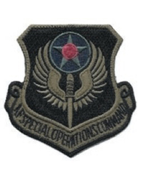 USAF Patch Special Operations Command Subdued (New)