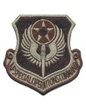 USAF Special Operations Command Desert Patch (Old)