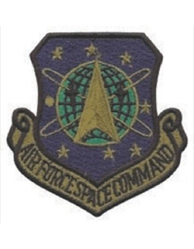 USAF Space Command Desert Patch No Fastener
