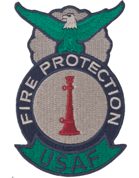 Fire Protection Badge One Bugle ABU