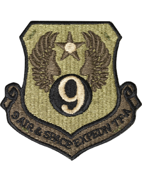 9th Air and Space Expedn TF-A Scorpion Patch with Fastener