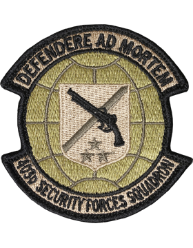 403rd Security Forces Squadron Scorpion Patch with Fastener