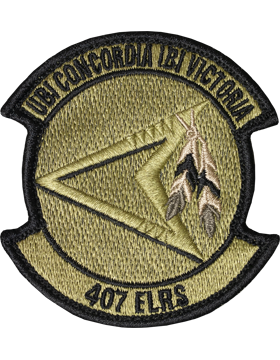 407th Expeditionary Logistics Readiness Sq Scorpion with Fastener