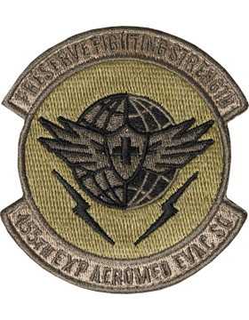 455th Exp Aeromed Evac Sq Scorpion Patch with Fastener