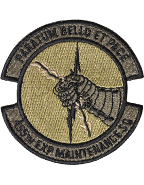 455th Expeditionary Maintenance Sq Scorpion Patch with Fastener
