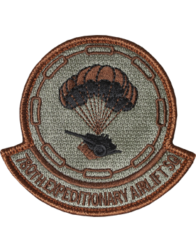 780th Expeditionary Airlift Squadron Scorpion Patch with Fastener